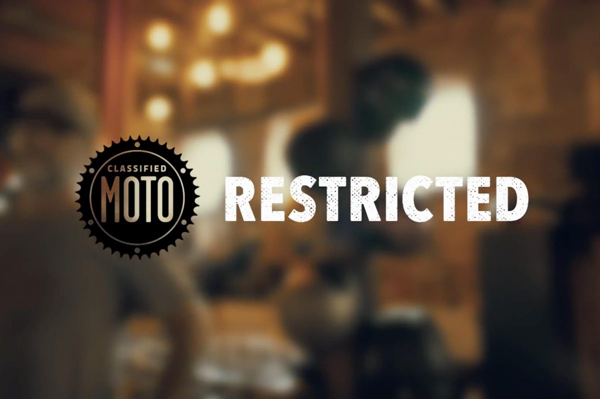 Classified Moto Announces RESTRICTED Series